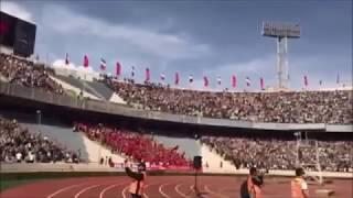 This is HELL. Azadi Stadium. Tehran