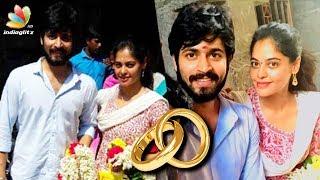 Harish Kalyan, Bindu Madhavi's secret marriage in temple? | Hot Tamil Cinema News
