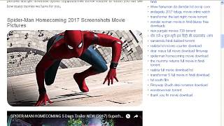 HOW TO DOWENLOD FREE SPIDER MAN HOMECOMING FULL MOVIE IN HD IN VERY EASY STEPS
