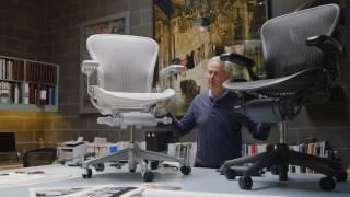 Don Chadwick, Aeron Chair remastered - Herman Miller