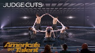 Blue Tokyo: Dance Group Stuns With Incredible Choreographed Tricks - America