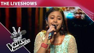 Neelanjana Ray Performs On Yeh Galiyan Yeh Chaubara | The Voice India Kids | Episode 26