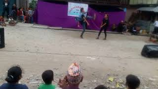 New Nepali cover song ||mixing cover song dance by sujan limbu tandi