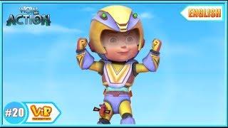 Vir The Robot Boy | Vir Vs Toy Robots |  English episodes for Kids | WowKidz Action