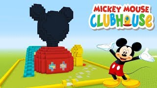 Minecraft Tutorial: How To Make A Mickey Mouse Clubhouse House