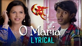 O Maria | Full Song with Lyrics | Urfi Marathi Movie | Prathamesh Parab | Mitali Mayekar