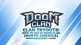 DooM TRYOUTS NOW! Call of Duty Modern Warfare Remastered NA #DooMRC