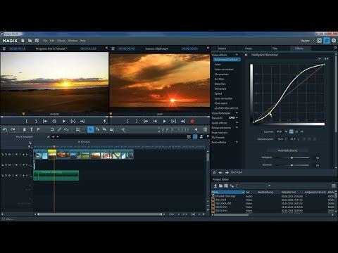 MAGIX Video Pro X – Introductory video tutorial (INT)
