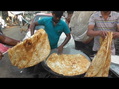 World Big Paratha with Halua 10 rs 0.14 Only Best & Cheap Street Food Mumbai