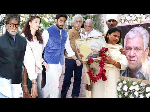 Xxx Mp4 Bollywood Celebs Paid Tribute To Om Puri Amitabh Naseeruddin Shah Aishwarya Rai 3gp Sex
