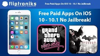 NEW IOS 10 - 10.1 - 10.2 Get PAID Apps/Games FREE (NO Jailbreak)- Iphone 7/7Plus/6/6Plus/6s/6sPlus