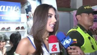 Miss Colombia se une a campaña para salvar el sector del calzado