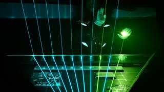 Time Composer ft. Kilian Amacker - EAST GLORIUS GATE - Laser Piano / Laser Harp - SyntFest2017