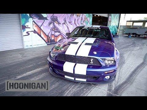 [HOONIGAN] DT 034: Shelby GT500 Burnouts