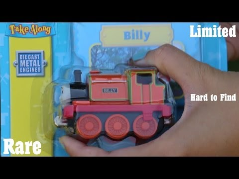 Hard to Find Thomas Take N Play: Billy Diecast Toy Train