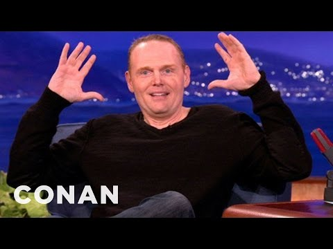 Bill Burr Thinks Most People Online Are Evil CONAN on TBS