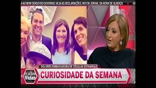 Dolores Aveiro Radar da Fama Flash TV BebéCord