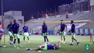 تدريبات الفريق الأول لكرة القدم بالنادي الاهلي  الخميس 7  سبتمبر 2017