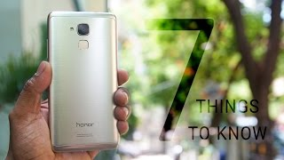 Honor 5c - 7 Things to Know (Overview)