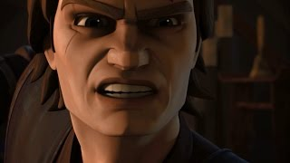 Foreshadowing of Anakin's turn to the Dark side in Star Wars The Clone Wars