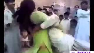 Pakistani Pathan out of control with mujra girl