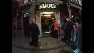 Charlotte & Gaz Leave Club Hand In Hand Filming Geordie Shore