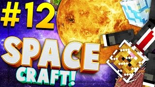 Minecraft SPACE CRAFT - ALIENS ATE MY ROCKET - Modded Survival #12