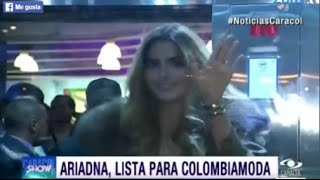 Ariadna Gutierrez lista para ColombiaModa