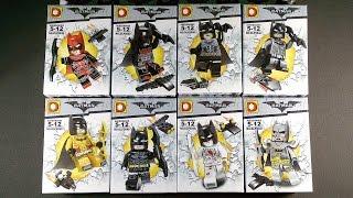 LEGO Batman Minifigures (bootleg / knock-off) DLP9046