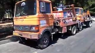 Iran, Grève des camionneurs à Machhad, 25 août 2018