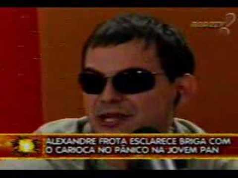 Semana em Panico Alexandre frota agride apresentador