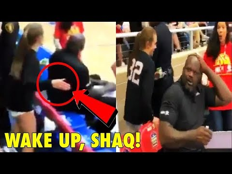 Only this girl can SLAP Shaquille O Neal and get away with it