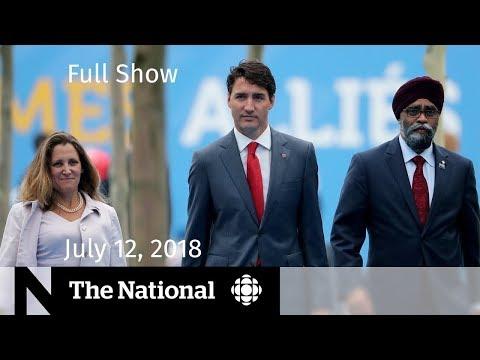 Xxx Mp4 The National For Thursday July 12 2018 — Toronto Security Ontario Sex Ed Erik Brown 3gp Sex