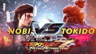 TEKKEN 7 FATED RETRIBUTION | Dragunov - Nobi VS Tokido - Akuma 『鉄拳 7FR ノビ (ドラグノフ) VS ときど (豪鬼) 』