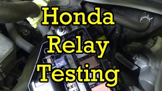 Honda Relay Testing (4 Pin Blower Motor)