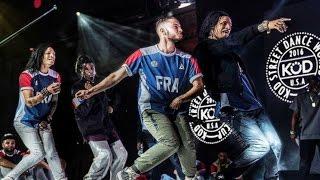 Criminalz Crew at KOD 2016 Finals stance LES TWINS%2C WAYDI%2C BOUBOU