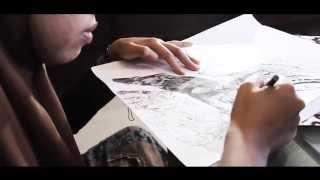 """pameran karya seni UISMUH MAKASSAR """"CYBER ART"""""""