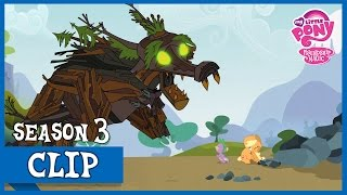Spike Saves Applejack Of The Timberwolfs (Spike at Your Service) | MLP: FiM [HD]