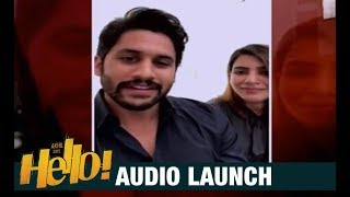 Naga Chaitanya & Samantha Special Wishes To HELLO! Movie | Akhil Akkineni, Kalyani Priyadarshan