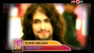Sonu Nigam - Most Desirable at 32