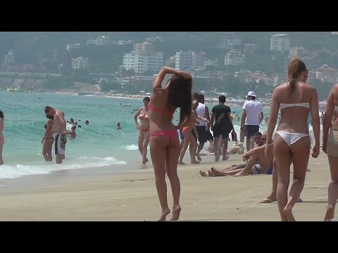 Kleopatra Beach. Alanya Turkey.