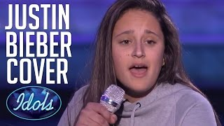 Love Yourself Justin Bieber Cover | Avalon Young Audition On American Idol | Idols Global
