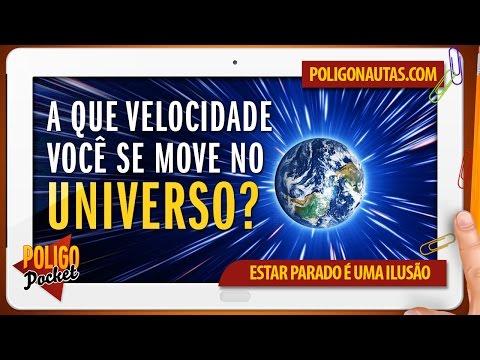 A que Velocidade Você se Move no Universo PoligoPocket