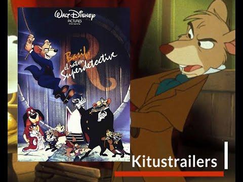 Basil El raton Superdetective Trailer