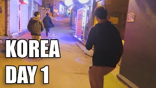 KOREA DAY 1 VLOG   IN THE WRONG PART OF TOWN