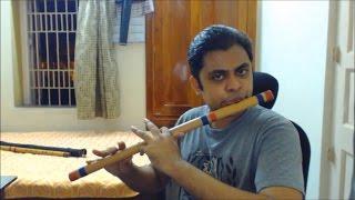 Khachar Bhitor Ochin Pakhi - Flute (Bansuri)