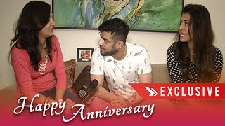 Interview: Karan Patel & Ankita's First Anniversary Celebration With Telly Masala | Exclusive