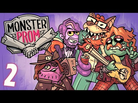 How Cool IS Deke Monster Prom SUMMER TIME DLC FUN w Octopimp Davis and Alex Part 2