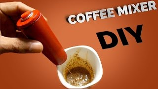 How To make a Mini coffee mixer at home - DIY