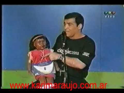Karim imitando a Luis Miguel y Mariah Carey